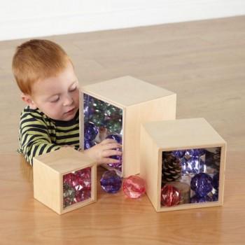 Kit de 3 boites à miroir
